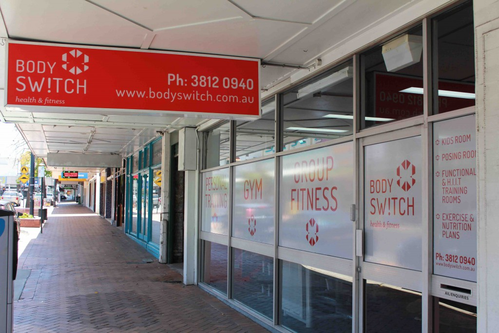 New Ipswich Gym - BodySwitch Health and Fitness - Brisbane Street