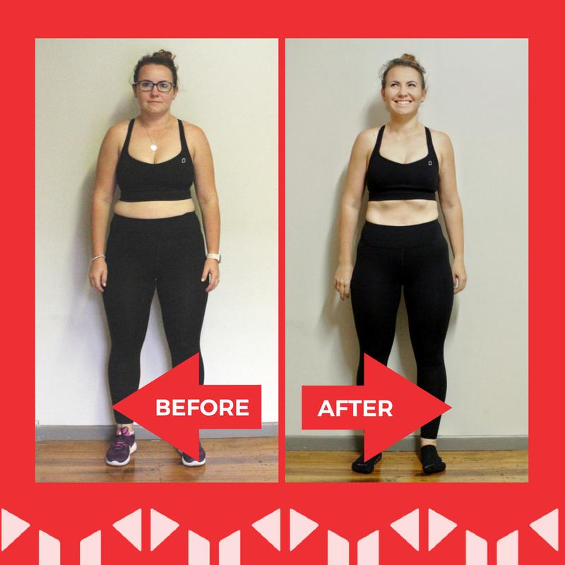 Yasmin's fitness transformation at BodySwitch