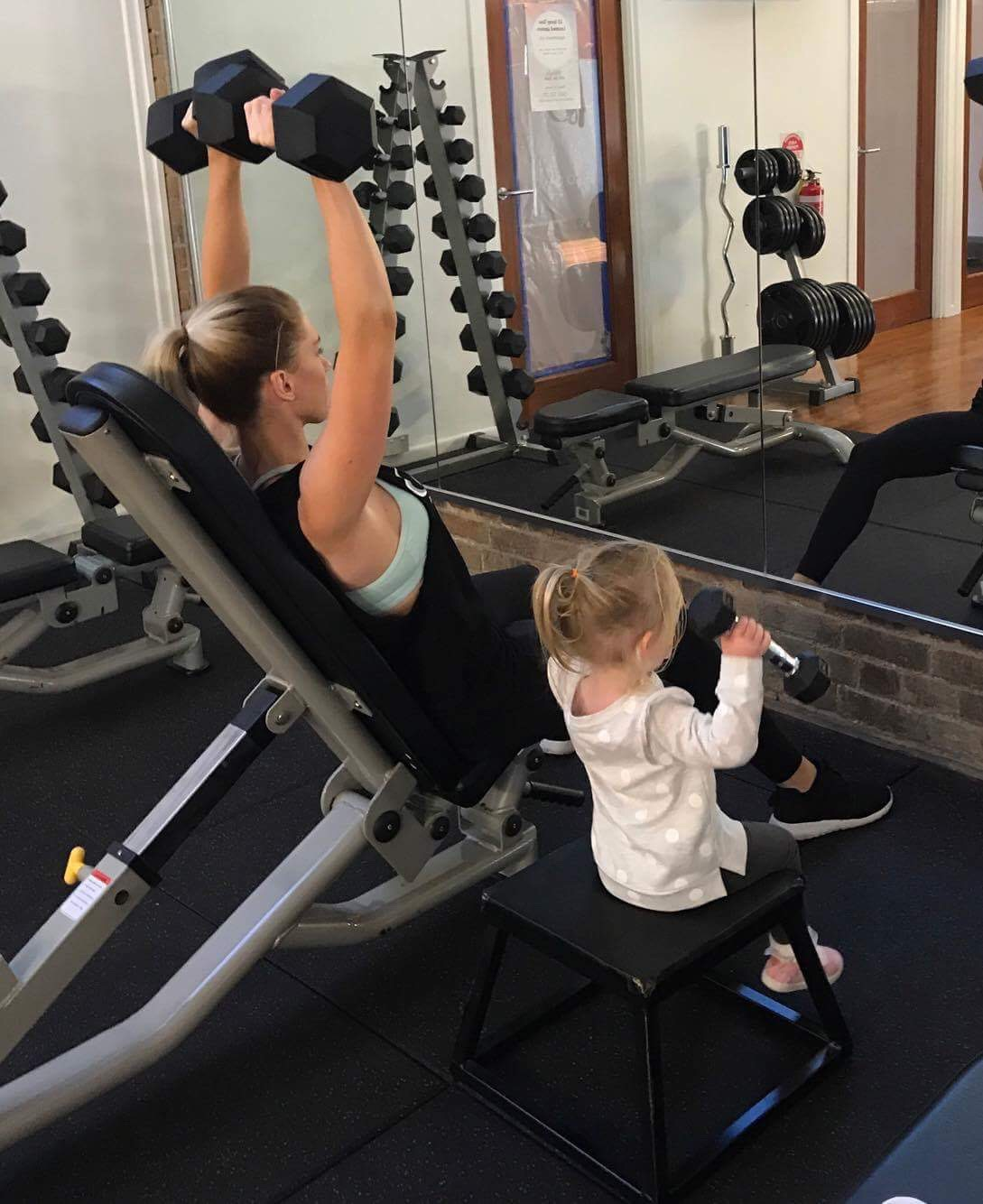 Lose weight, tone up or get fit. We even have a kids room.